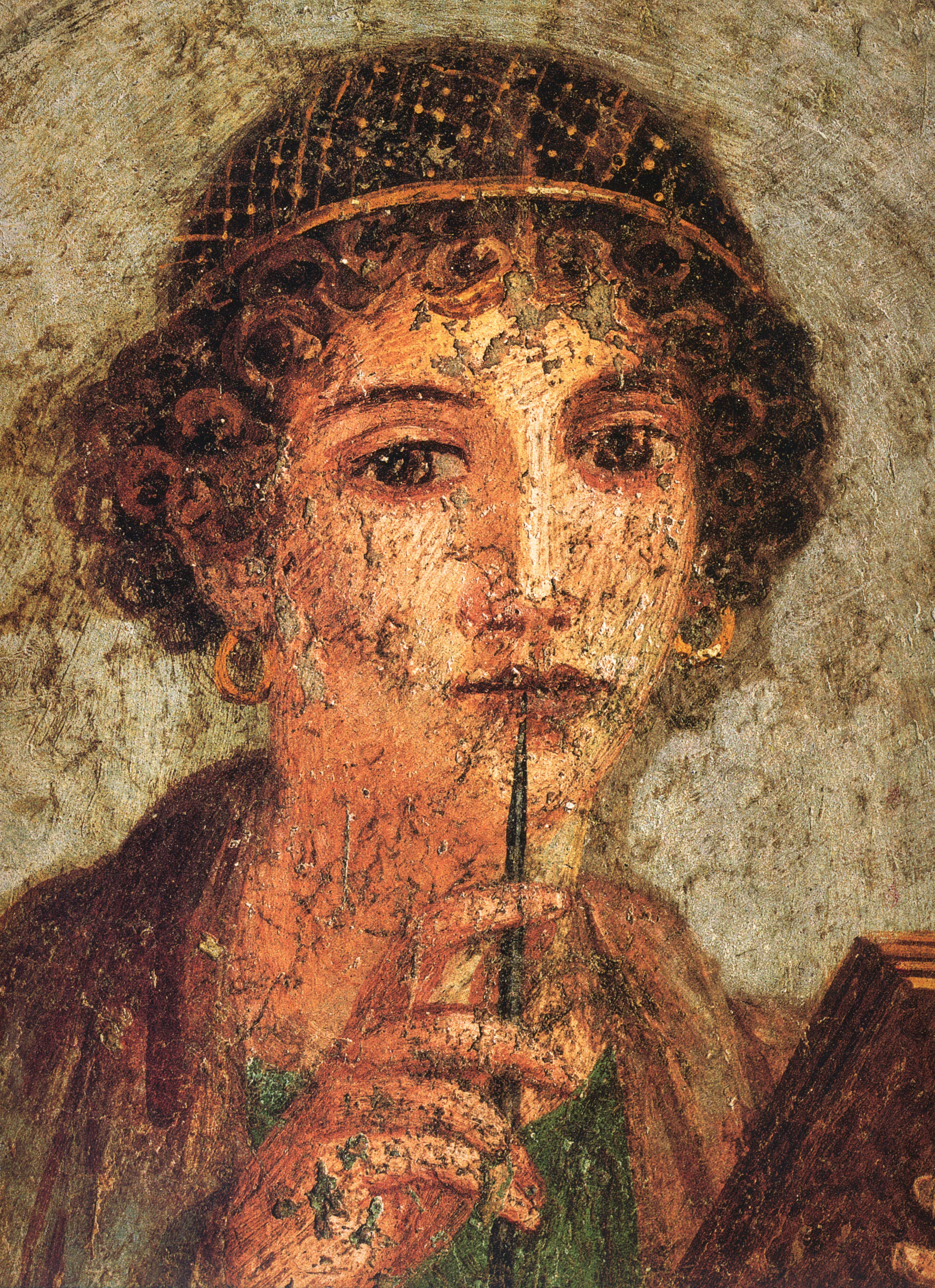 Youth_Pompei_Sappho