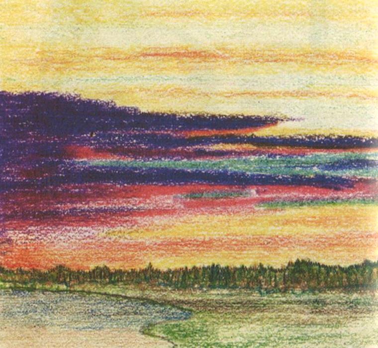 P. Florensky, Lever de soleil sur les îles Solovki (Lettre n°63 du 31.V.1936)
