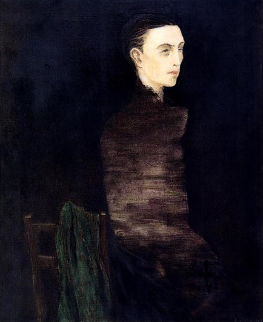 Josef Sima, Portrait de Roger Gilbert-Lecomte 4