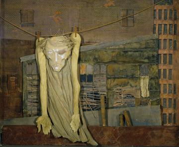 Mina Loy, Christ on a clothesline